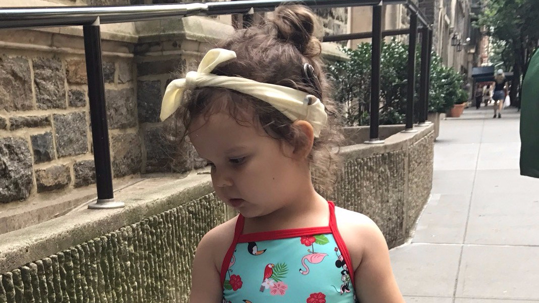 Sonya wears RubyBands Swim Band