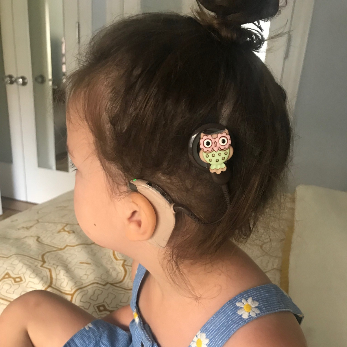 Sonya Loves Her New Cochlear Implant Charms!