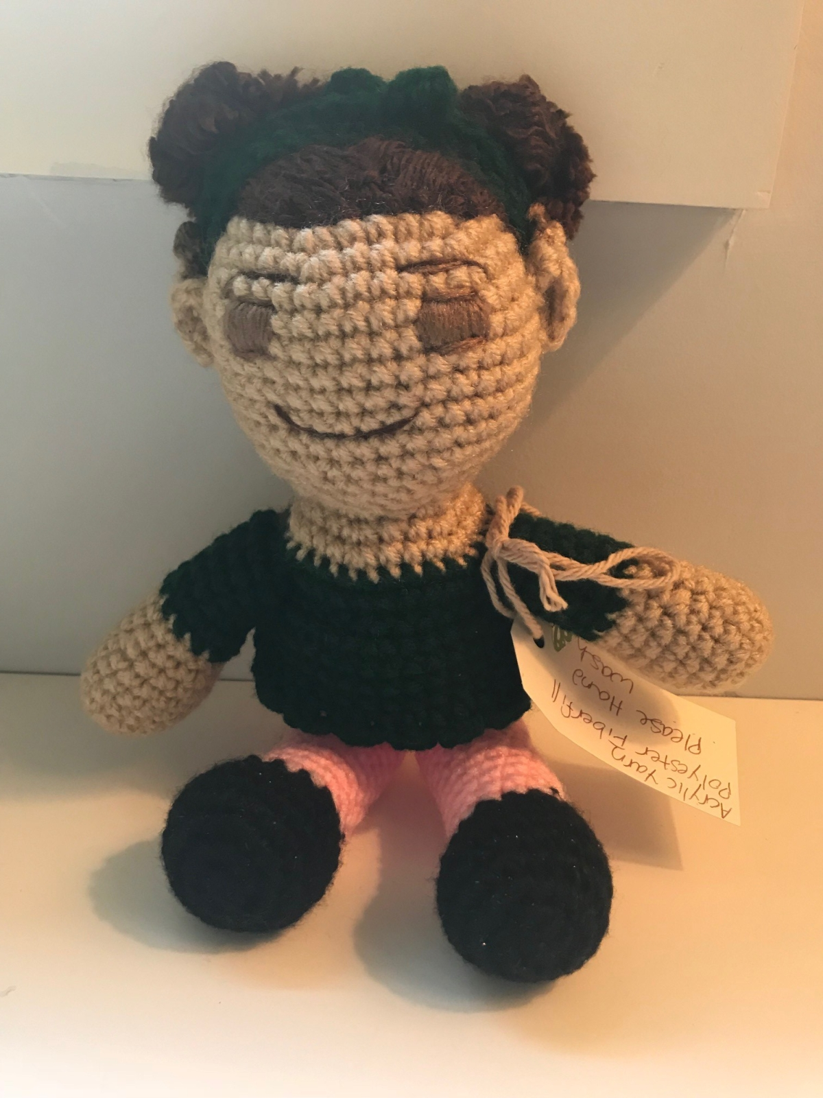 It's Sonya in Crochet Doll Form! And Other Adorable Gifts Featuring Cochlear Implants